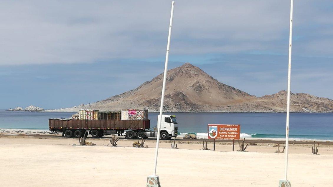 Ingreso de vehículos pesados al Parque Pan de Azúcar por bloqueos de rutas preocupa a Conaf - Cooperativa.cl