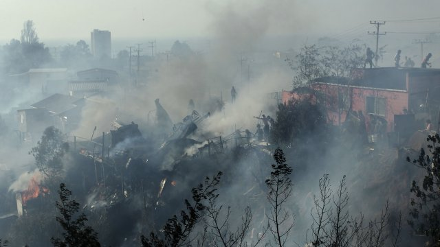 Sharp sobre incendio en Valparaíso: Fue intencional y no por acción de la naturaleza - Cooperativa.cl