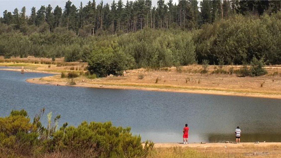 Image result for lago pañuelas podria secarse