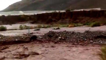 Lluvias dejan un muerto y cinco desaparecidos enAtacama