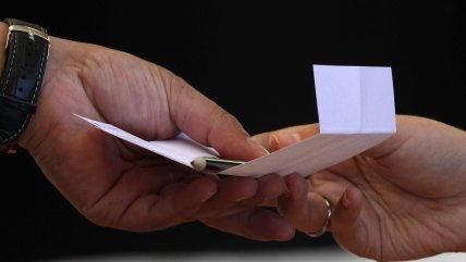 Servel detalló cómo serán las papeletas para el plebiscito constituyente