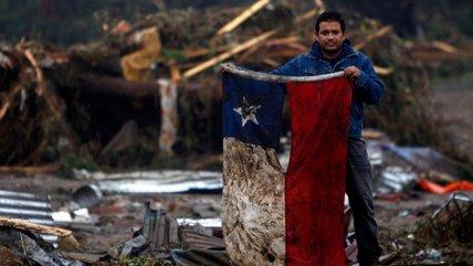 Emblema del terremoto: ¿Qué fue de la bandera chilena del 27F?
