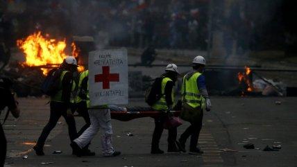 Confirmaron el fallecimiento de manifestante herido el viernes en Plaza Baquedano