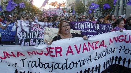 Los desvíos de tránsito que se implementarán por la marcha del Día Internacional de la Mujer