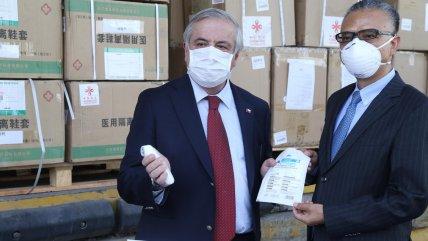 Mañalich anunció nueva donación desde China que