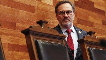 Ministro del Tribunal Constitucional le pidió la renuncia a Brahm por su