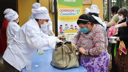 Municipalidad de Peñaflor abrió comedor comunitario para ayudar a vecinos durante la pandemia