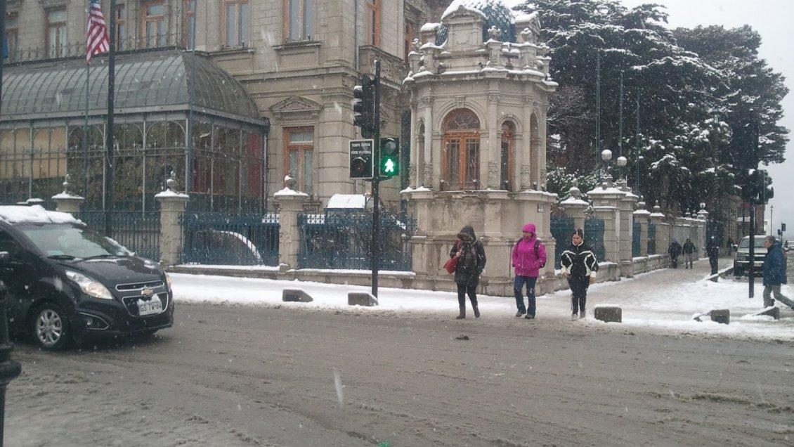 Magallanes tendrá temperaturas bajo cero en sus principales ciudades el fin de semana