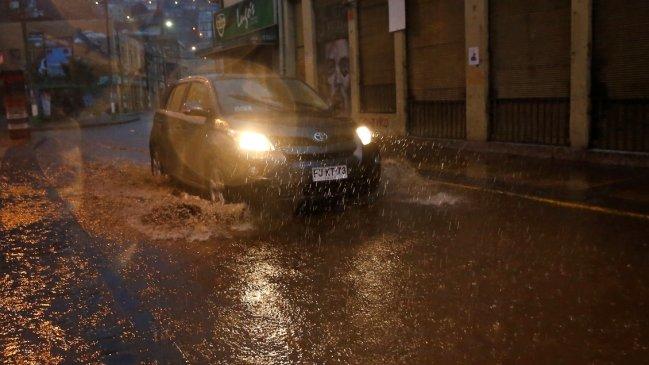Fuertes lluvias afectan a la zona centro sur del país