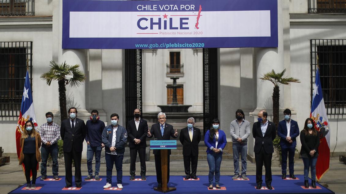 """Piñera lanzó campaña para promover participación en Plebiscito: """"Se va a  escuchar fuerte la voz de la gente"""" - Cooperativa.cl"""