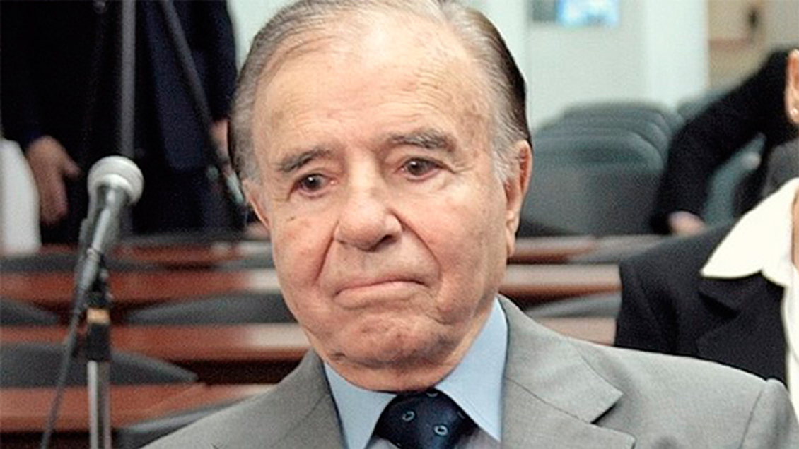Carlos Menem Is In A Coma After Kidney Failure