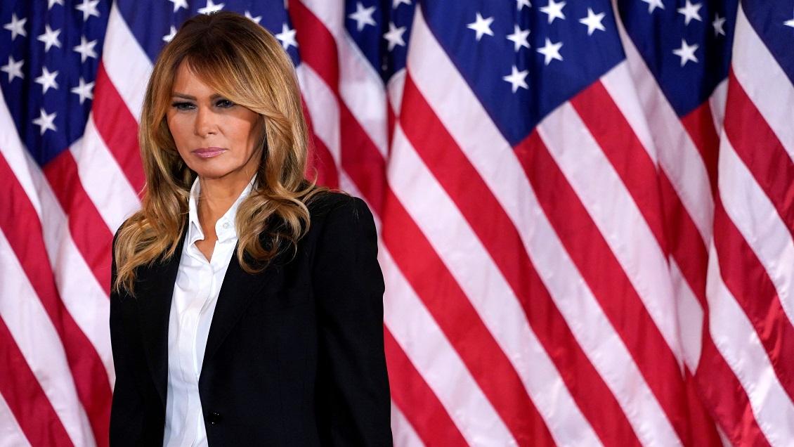 Melania Trump se despidió instando