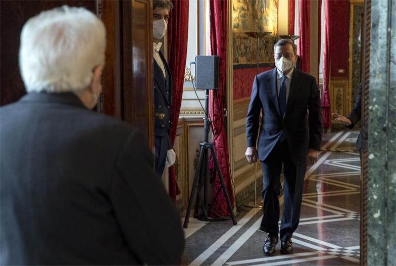 Mario Draghi jura el cargo como primer ministro de Italia