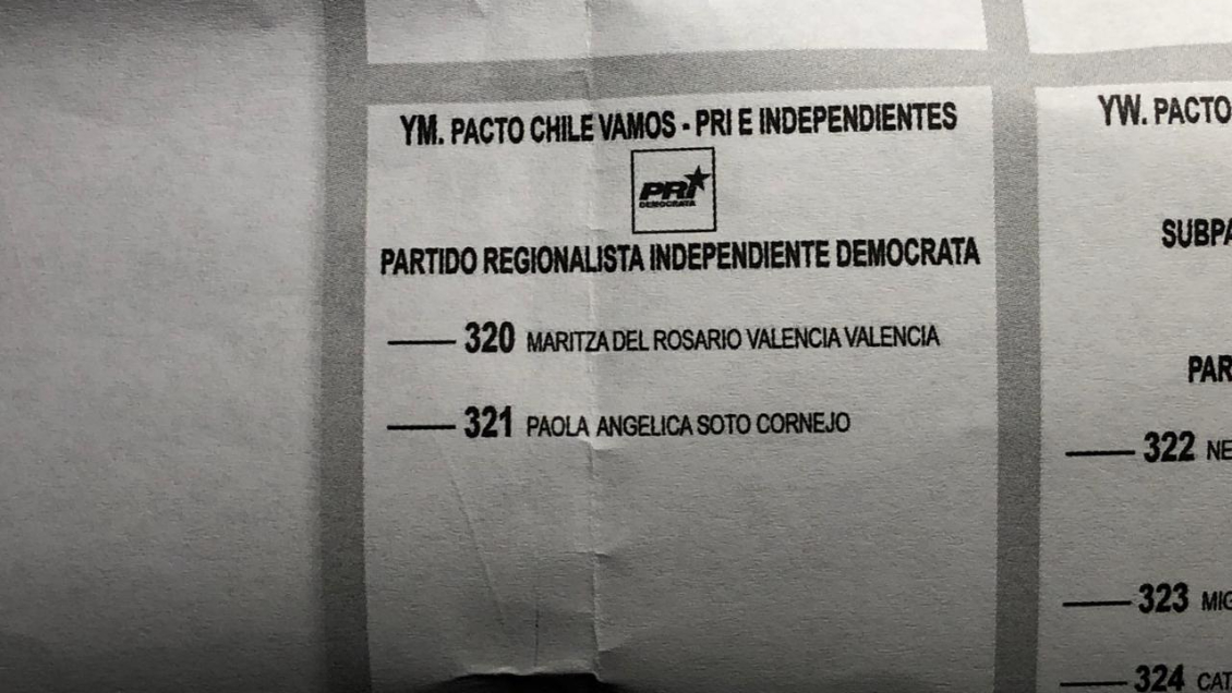 San Fernando: Mujer aparece como candidata a concejal y acusa que nunca se inscribió
