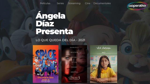 Space Jam: una nueva era; El conjuro 3 y Eid Americano en los comentarios de Ángela Díaz