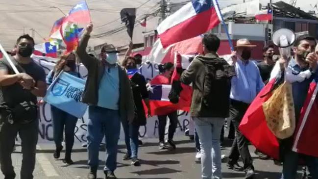 Cerca de cinco mil personas participaron de marcha contra migración irregular en Iquique