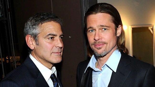 George Clooney y Brad Pitt harán una nueva película juntos
