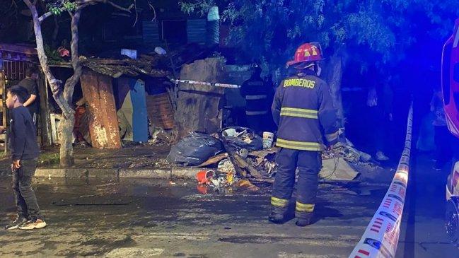 Dos personas murieron en incendio en la Población La Victoria