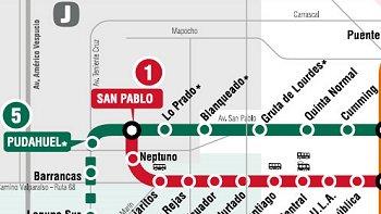 Metro Dio Luz Verde A Las Nuevas Estaciones De La Linea 5 Cooperativa Cl